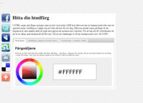 htmlfarg.nu