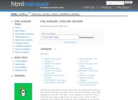 htmlmarquee.com