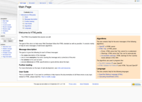 htmlpedia.org