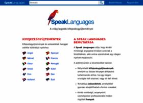 hu.speaklanguages.com