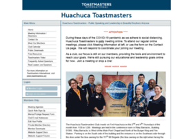 huachuca.toastmastersclubs.org