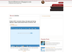 huaweifirmware.blogspot.com