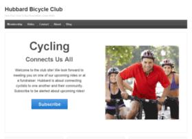 hubbardbicycleclub.com