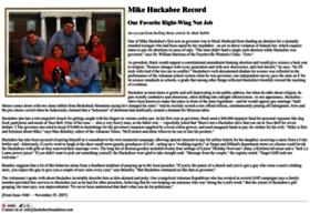 Huckabeefoundation.com