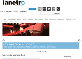 huesca.lanetro.com