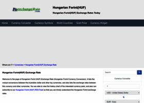 huf.fxexchangerate.com
