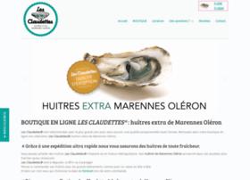 huitres-lesclaudettes.com