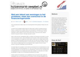 huizenmarkt-zeepbel.nl