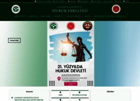 hukuk.cu.edu.tr
