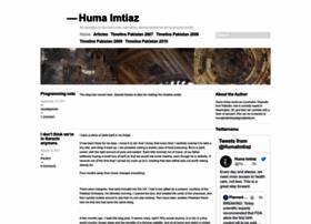 humaimtiaz.wordpress.com
