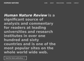 human-nature.com