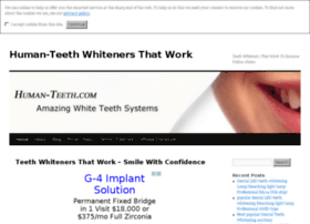 human-teeth.com