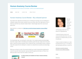 Humananatomycoursereview.org
