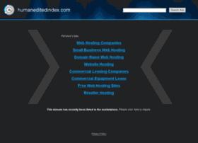 humaneditedindex.com