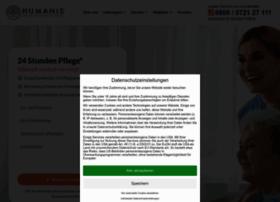 humanis-pflege.de