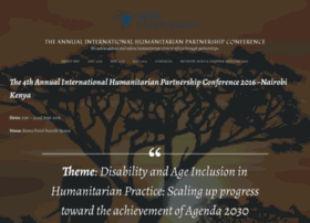 humanitarianpartnershipconference.wordpress.com