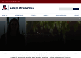 humanities.arizona.edu