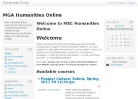humanities.mga.edu