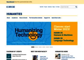humanities.ucsc.edu