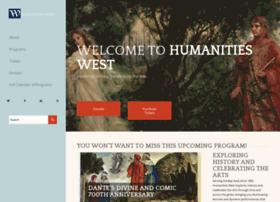 humanitieswest.net