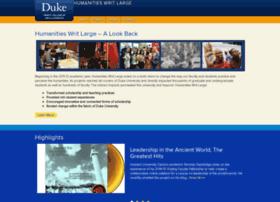humanitieswritlarge.duke.edu
