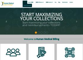 humanmedicalbilling.com