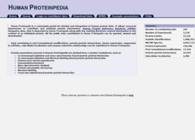 humanproteinpedia.org