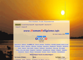humanreligions.info