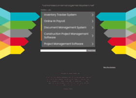 humanresourcemanagementsystem.net