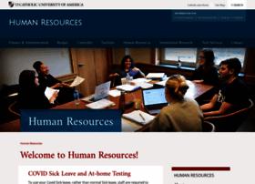 humanresources.cua.edu