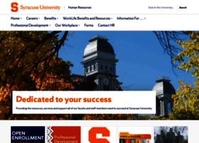 humanresources.syr.edu