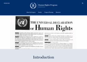 humanrights.barnard.edu