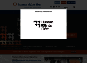 humanrightsfirst.org