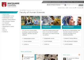 humansciences.mq.edu.au