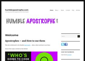 humbleapostrophe.com