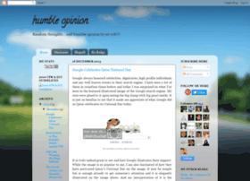 humbleopinionbysirrob.blogspot.kr