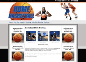 humebasketball.com