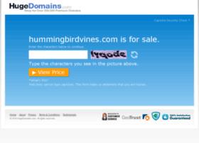 hummingbirdvines.com