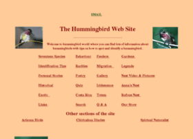 hummingbirdworld.com