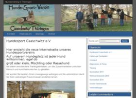 hundesportverein-caaschwitz.de