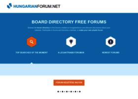 hungarianforum.net