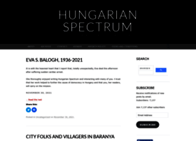 hungarianspectrum.org
