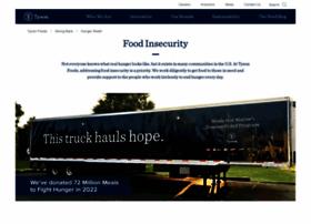 hungerrelief.tyson.com