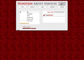 hunsteinartists.com