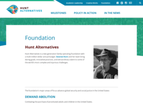 huntalternatives.org
