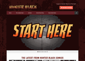 hunterblackcomics.com