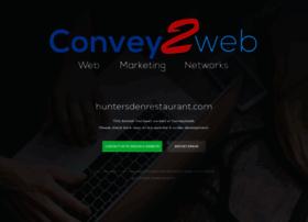 huntersdenrestaurant.com