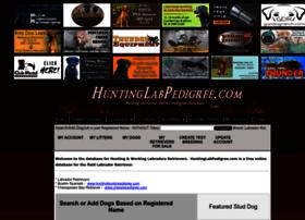 huntinglabpedigree.com