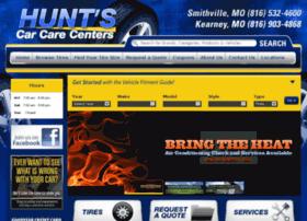 huntscarcarecenter.com