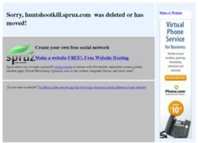 huntshootkill.spruz.com